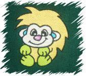 Dětský ručník s výšivkou - JEŽEK