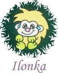 Dětská osuška s výšivkou - JEŽEK a jméno