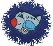 Dětská osuška s výšivkou - LETADLO