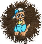 Dětská osuška pro děti s obrázkem - KLOKAN