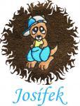 Dětská osuška s výšivkou - KLOKAN a jméno