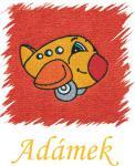 Dětský ručník s výšivkou - LETADLO a jméno