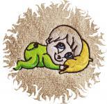 Dětská osuška s výšivkou - BATOLE