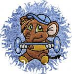 Dětská osuška s výšivkou - SLON SILÁK