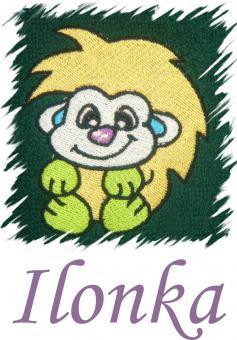 Dětský ručník s výšivkou - JEŽEK a jméno